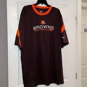 Reebok Cleveland Browns 2XL T-Shirt